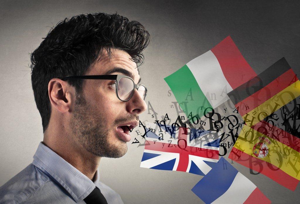 Multilingual person