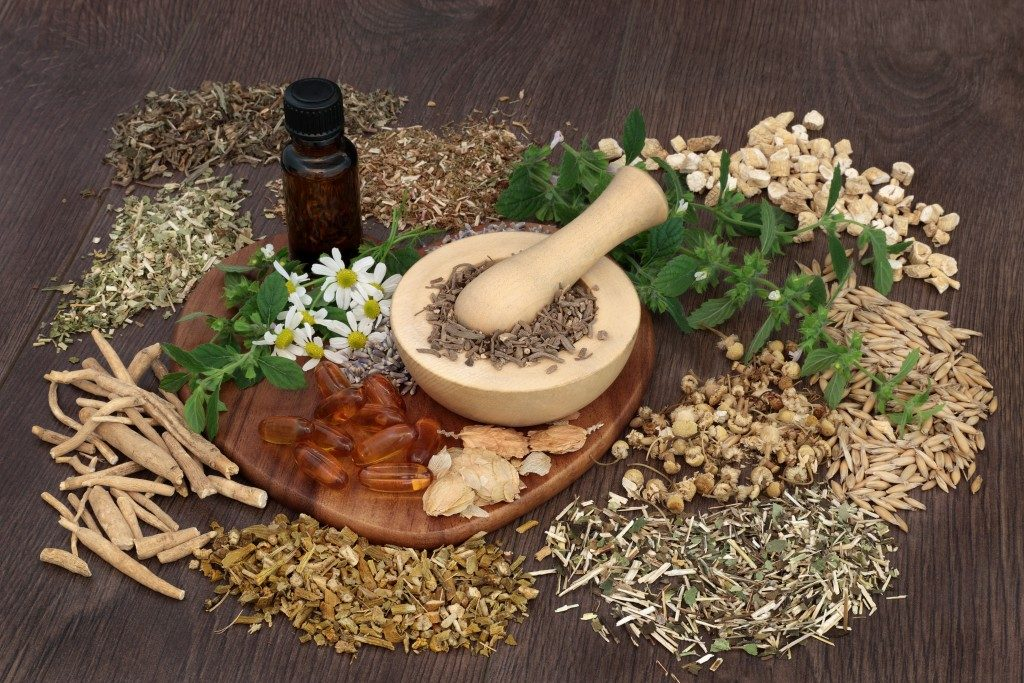 natural ingredients for medicine