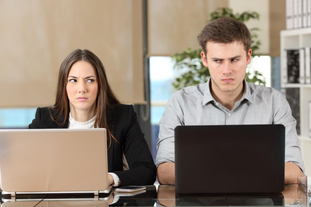 workplace dispute